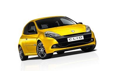 2010 Renault Clio RS wallpaper thumbnail.