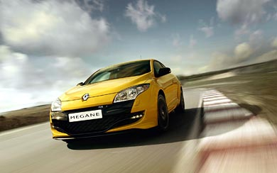2010 Renault Megane RS wallpaper thumbnail.