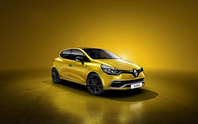 2013 Renault Clio RS 200 wallpaper thumbnail.