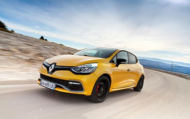 2013 Renault Clio RS 200 EDC wallpaper thumbnail.