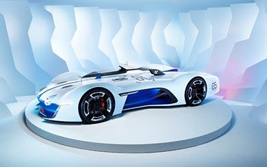 2015 Renault Alpine Vision Gran Turismo Concept wallpaper thumbnail.