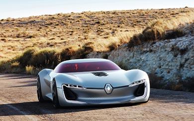 2016 Renault Trezor Concept wallpaper thumbnail.