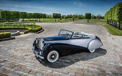 1952 Rolls-Royce Silver Dawn Drophead wallpaper thumbnail.