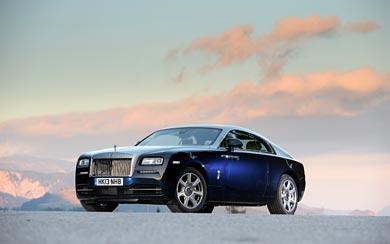 2014 Rolls-Royce Wraith wallpaper thumbnail.