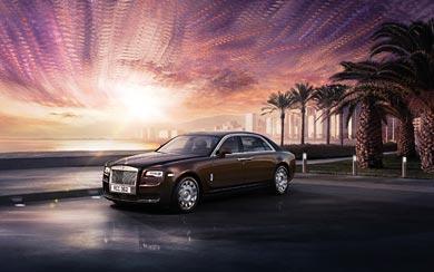 2015 Rolls-Royce Ghost Series II wallpaper thumbnail.