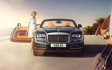 2017 Rolls-Royce Dawn wallpaper thumbnail.