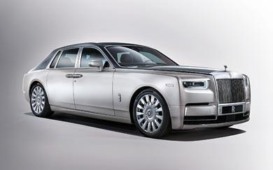 2017 Rolls-Royce Phantom wallpaper thumbnail.