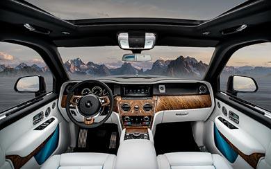 2019 Rolls-Royce Cullinan wallpaper thumbnail.