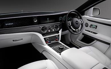 2021 Rolls-Royce Ghost wallpaper thumbnail.