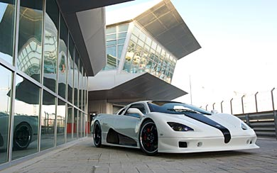 2009 SSC Ultimate Aero wallpaper thumbnail.