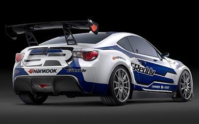 2012 Scion FR-S Race Car wallpaper thumbnail.