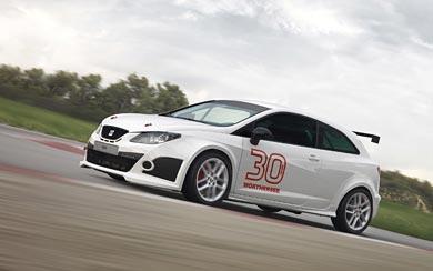 2011 Seat Ibiza SC Trophy wallpaper thumbnail.
