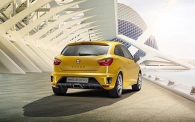 2012 Seat Ibiza Cupra Concept wallpaper thumbnail.