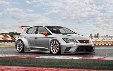 2013 Seat Leon Cup Racer Concept wallpaper thumbnail.