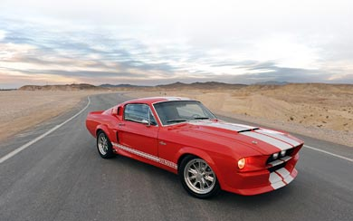 2010 Shelby Classic Recreations GT500CR wallpaper thumbnail.