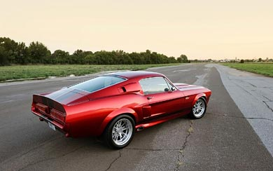 2011 Shelby Classic Recreations GT500CR wallpaper thumbnail.