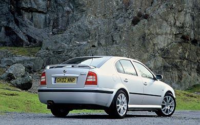 2001 Skoda Octavia RS wallpaper thumbnail.