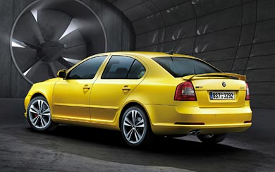 2009 Skoda Octavia RS wallpaper thumbnail.