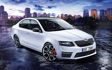 2015 Skoda Octavia RS 230 wallpaper thumbnail.