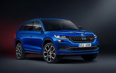 2019 Skoda Kodiaq RS wallpaper thumbnail.