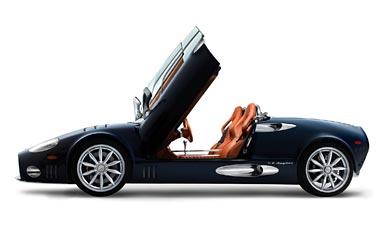 2006 Spyker C8 Spyder wallpaper thumbnail.