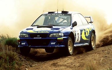 1997 Subaru Impreza WRC wallpaper thumbnail.