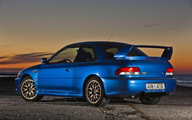 1998 Subaru Impreza 22B STI wallpaper thumbnail.