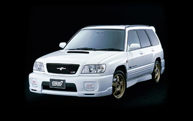 2000 Subaru Forester STI II wallpaper thumbnail.