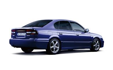 2000 Subaru Legacy B4 RS wallpaper thumbnail.