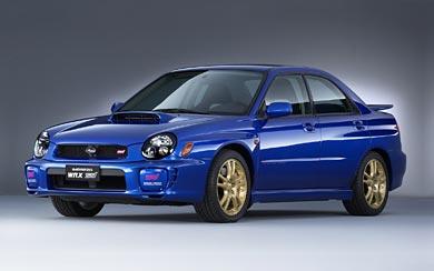 2002 Subaru Impreza WRX STI wallpaper thumbnail.