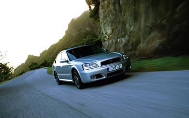 2002 Subaru Legacy B4 Blitzen wallpaper thumbnail.