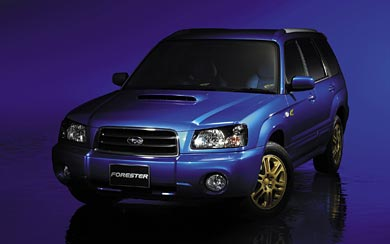 2004 Subaru Forester XT wallpaper thumbnail.