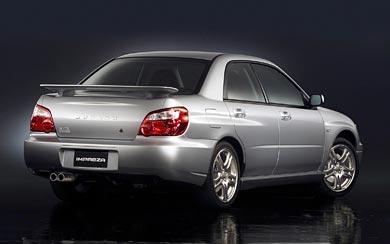 2004 Subaru Impreza WRX wallpaper thumbnail.