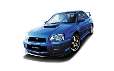 2004 Subaru Impreza WRX STI Spec C wallpaper thumbnail.