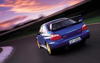 2004 Subaru Impreza WRX STI wallpaper thumbnail.