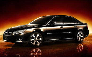 2006 Subaru Legacy B4 wallpaper thumbnail.
