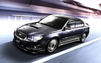 2006 Subaru Legacy STI wallpaper thumbnail.