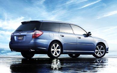 2007 Subaru Legacy GT Touring Wagon wallpaper thumbnail.