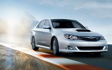 2008 Subaru Impreza WRX wallpaper thumbnail.