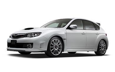 2008 Subaru Impreza WRX STI wallpaper thumbnail.