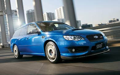 2008 Subaru Legacy STI S402 wallpaper thumbnail.
