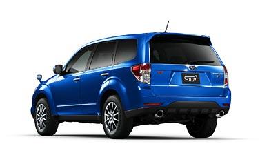 2010 Subaru Forester STI wallpaper thumbnail.