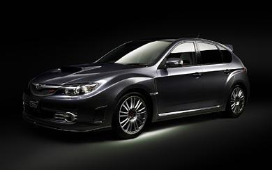 2010 Subaru Impreza WRX STI wallpaper thumbnail.