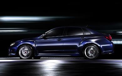 2010 Subaru Impreza WRX STI A-Line wallpaper thumbnail.