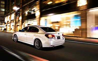 2010 Subaru Legacy B4 STI wallpaper thumbnail.