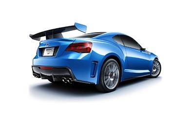 2011 Subaru BRZ STI Concept wallpaper thumbnail.