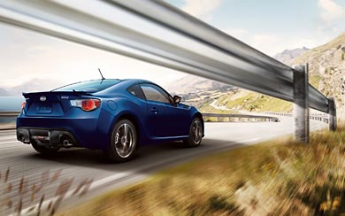 2012 Subaru BRZ wallpaper thumbnail.