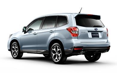 2012 Subaru Forester XT wallpaper thumbnail.