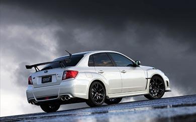 2012 Subaru Impreza WRX STI S206 wallpaper thumbnail.