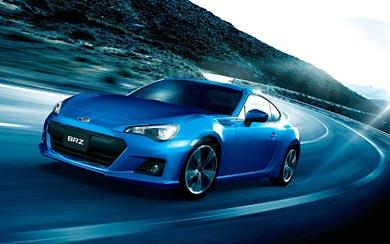 2013 Subaru BRZ wallpaper thumbnail.